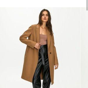Babaton Stedman wool coat in dark grey